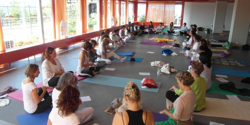 Yoga Ratna con Gabriella Cella a Lugano  – sett. 2014