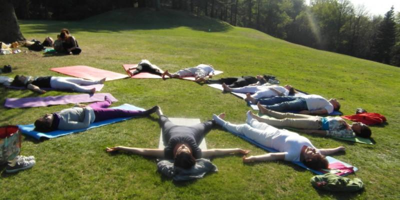 Yoga al Parco San Grato – aprile 2014