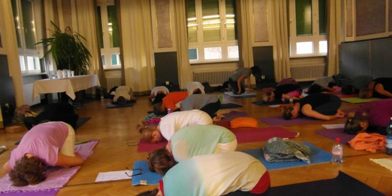 Seminario Yoga Ratna con Gabriella Cella a Lugano, settembre 2015
