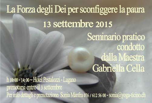 La Maestra Gabriella Cella ritorna a Lugano